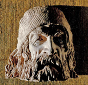 Old Sculpture Prints - The Man from Thirteenth Street Print by Vladimir Kozma