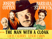 Caron Framed Prints - The Man With A Cloak, Louis Calhern Framed Print by Everett