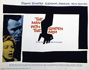 1950s Movies Prints - The Man With The Golden Arm, Eleanor Print by Everett