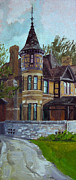 Appleton Prints - The Manor Print by Anthony Sell