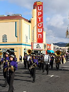 Marching Band Photo Prints - The Marching Band at The Uptown Theater in Napa California . 7D8925 Print by Wingsdomain Art and Photography