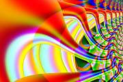 Fractal Geometry Digital Art - The Marching Band . S14 by Wingsdomain Art and Photography