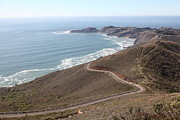 Marin Photos - The Marin Headlands - California Shoreline - 5D19593 by Wingsdomain Art and Photography