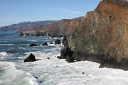 Seascape. Headland Posters - The Marin Headlands - California Shoreline - 5D19692 Poster by Wingsdomain Art and Photography