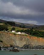 Marin Photos - The Marin Headlands in California by Wingsdomain Art and Photography