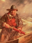 Rough Painting Prints - The Mariner Print by Erskine Nicol