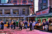 Center City Prints - The Market at Pike Place Print by David Patterson