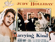 Bride And Groom Prints - The Marrying Kind, Aldo Ray, Judy Print by Everett