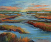Lowcountry Prints - The Marshes Print by Gloria Smith