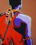 Masai Paintings - The Masai by Gail Zavala