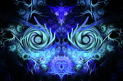 Mysterious Digital Art - The Mask by John Edwards