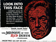 1960s Poster Art Posters - The Masque Of The Red Death, Vincent Poster by Everett