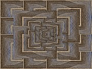 The Maze Within Print by Tim Allen