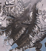 Land Feature Art - The Mcmurdo Dry Valleys West Of Mcmurdo by Stocktrek Images
