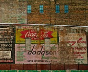 Brick Walls Photos - The Medium Is The Message by Odd Jeppesen