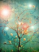 Fantasy Tree Posters - The Memory of Dreams Poster by Tara Turner