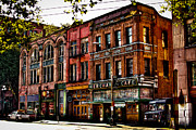 Seattle Center Prints - The Merchant Cafe - Seattle Washington Print by David Patterson