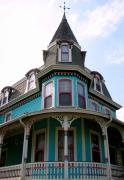 Old Homes Photos - The Merry Widow by Colleen Kammerer