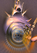 Science Fiction Originals - The message - Fractal art by Sipo Liimatainen