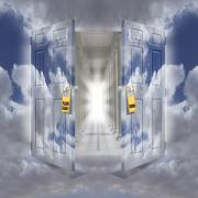 Heaven Digital Art Metal Prints - The Message Metal Print by Mike McGlothlen