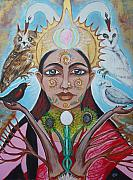Hindu Goddess Originals - The Messenger by Tammy Mae Moon