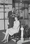 Therapy Prints - The Metalix Tube For Therapy, 1928 Print by Science Source