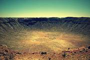 Meteor Prints - The Meteor Crater in AZ 2 Print by Susanne Van Hulst