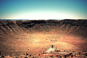 Traveling Prints - The Meteor Crater in AZ 3 Print by Susanne Van Hulst