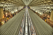 Washington Mall Prints - The Metro Print by Jim Pearson