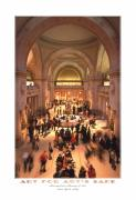People Digital Art Posters - The Metropolitan Museum of Art Poster by Mike McGlothlen