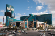 Las Vegas Nevada Prints - The MGM Grand Print by Andy Smy
