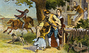 Personality Posters - The Midnight Ride Of Paul Revere, 1775 Poster by Photo Researchers