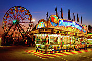 Kentucky Digital Art - The Midway - D005715a by Daniel Dempster