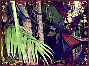 Orchids Digital Art - The Mighty Jungle by Mindy Newman