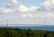 J.p. Prints - The Mighty Mackinac Print by Mark J Seefeldt