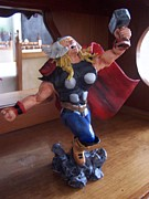 Thor Sculptures - The Mighty Thor by Luis Carlos A