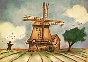 Scarecrow Originals - The Mill by Zbigniew Rusin