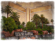Tree Art Print Framed Prints - The Mirage - IMPRESSIONS Framed Print by Ricky Barnard