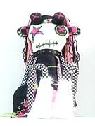 The Misfit Cyberpunk Pussy Cat Jones Version 1.0 Print by Oddball Art Co by Lizzy Love