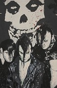 Grafitti Mixed Media - The Misfits by Dustin Spagnola