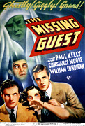 Horror Movies Photos - The Missing Guest, William Lundigan by Everett