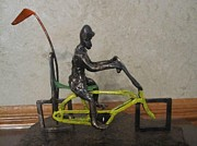 Bicycle Sculptures - The Missing Link circa 1974 by Mike Murphy
