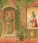 The Missing Picture01 Print by Kestutis Kasparavicius