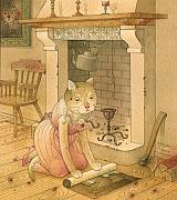 Cats Posters - The Missing Picture22 Poster by Kestutis Kasparavicius