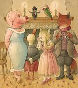 Cat Prints - The Missing Picture23 Print by Kestutis Kasparavicius