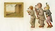 Picture Framed Prints - The Missing Picture24 Framed Print by Kestutis Kasparavicius