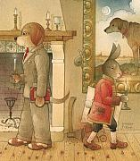 Party Framed Prints - The Missing Picture30 Framed Print by Kestutis Kasparavicius