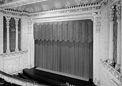 Saint Joseph Prints - The Missouri Theater Building, View Print by Everett
