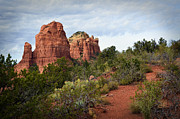 Red-rock Country Prints - The Mitten A Formal Portrait Print by Dan Turner