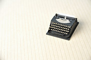 Typewriter Photos - The Model Of The Typewriter Made Of The Paper by Yagi Studio